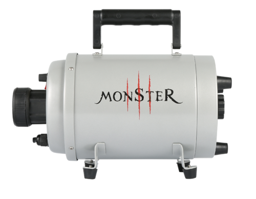 Monster Blaster heatable blaster/dryer