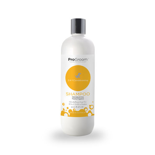 Hundeshampoo 2 in 1, 500 ml